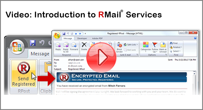 encrypted email video splash screen 960x540 red play now