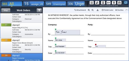 Electronic Signature Web Applications
