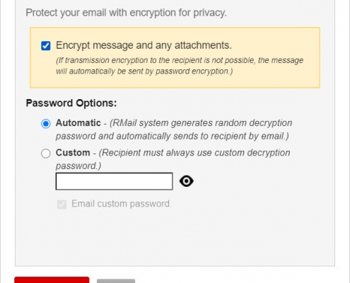 RMail for Gmail - Encrypt