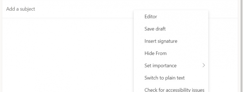 RMail for Outlook Online - Compose