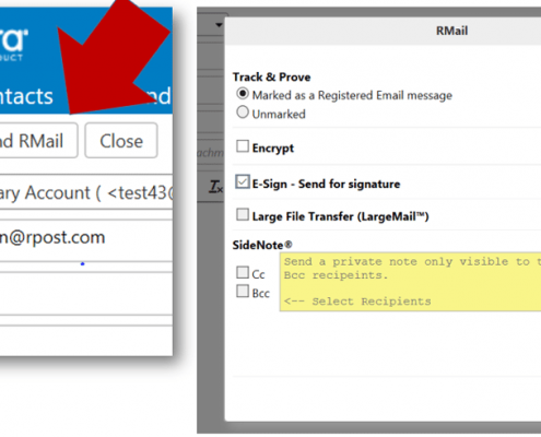 RMail for Zimbra Compose Secure Email