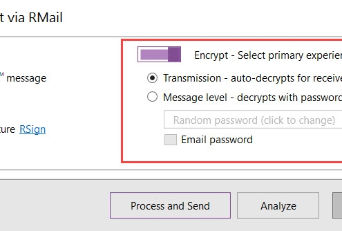 RMail for cleanDocs – Email Encryption