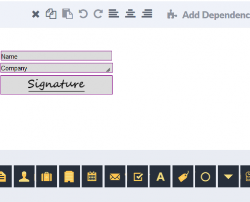 RSign for Salesforce Document Preparation