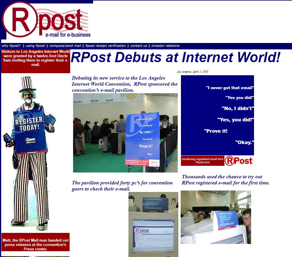 rpost-debut