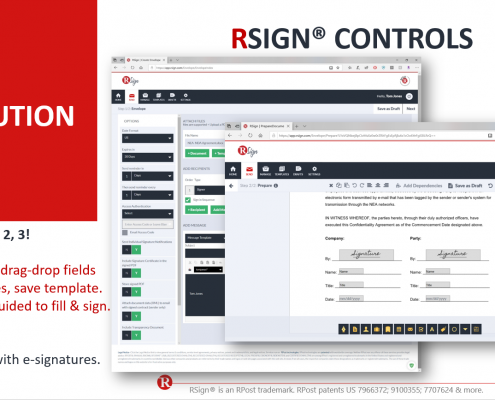 RSign E-Signatures – Controls Overview