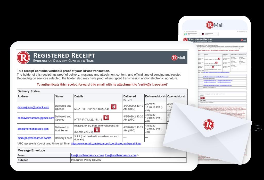 Servicios de Email Certificado, E-Sign, Cifrado y más.
