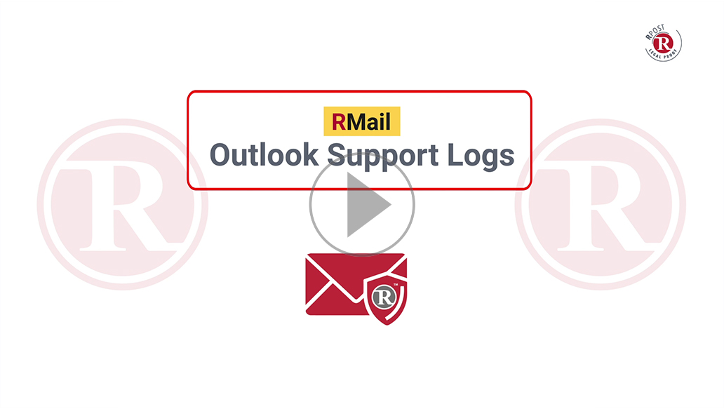 RMail Outlook Support Log